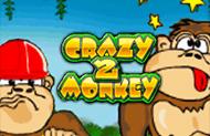 Crazy Monkey 2 - полулярные игровые автоматы Игрософт