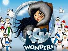 Играть на виртуальные баллы онлайн в аппараты Ледяные Чудеса