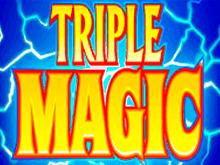 Вулкан подарит щедрые призы онлайн в игровых автоматах Тройная Магия